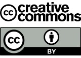 Logo: Creative Commons Lizenz CC BY